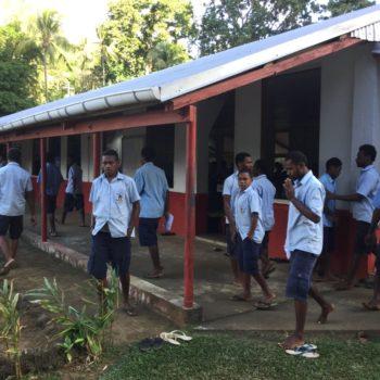 Solar donation for school on Ambae